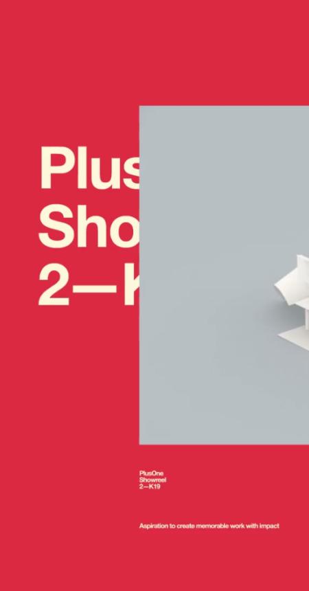 PlusOne Showreel